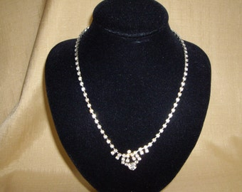 1960'S DIAMANTE NECKLACE