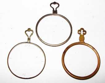 3 Monocles Early 1900s Very Cool Steampunk and More