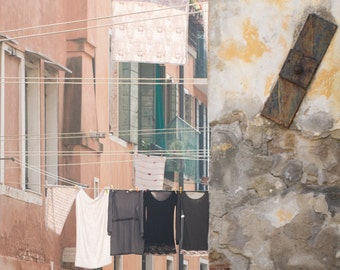 Venedig - venezianischen Wäsche Fotografie - Druck-italienische Reise-Fotografie