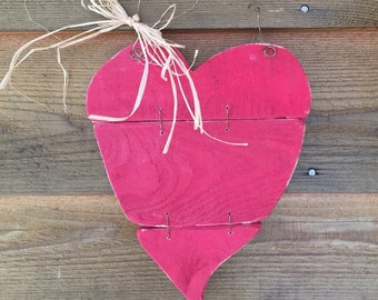 Rustic Heart Wall Hanging