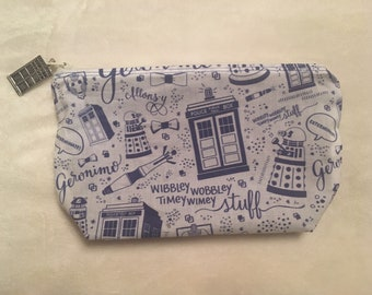 Doctor Who Cosmetic Bag