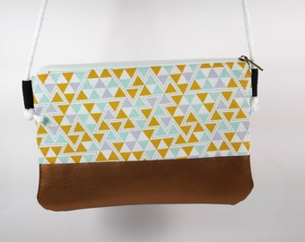 "Small shoulder Bag ""triangle"" (Party and Festival bag)"