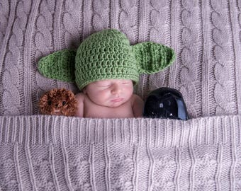 Yoda Hat | Star Wars | Newborn Photo Prop