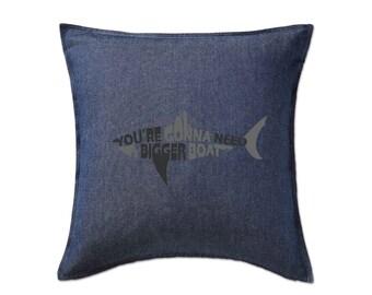 Jaws: Bigger Boat Cushion