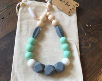 Teething Necklace, Nursing Necklace, Baby teether