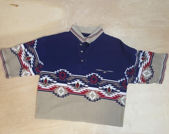 Vintage Urban Cowboy Polo - Medium