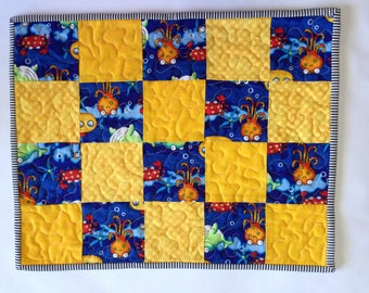 Quilted Kids Placemat / Octopus