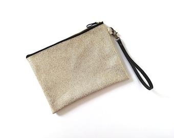 Gold bridesmaid bag, gold purse, wedding evening bag, gold bag, gold purse - City of Stars