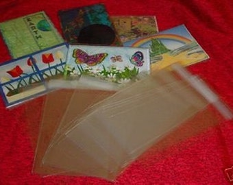 Crystal Clear Bags - Protective Closure - cello bags