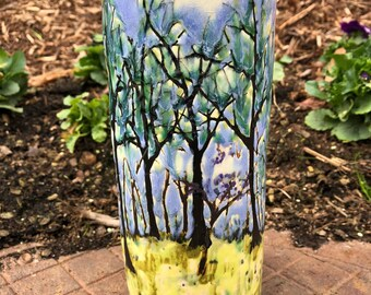 Spring Trees Vase