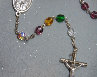 Custom Family Birthstone Rosary