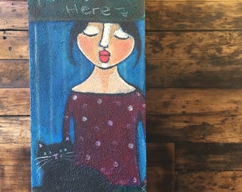 Original Artwork by Danita - Kisses Here