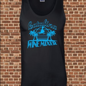 CATALINA WINE MIXER Mens Tank Top   All Sizes Available   Funny Step  Brothers Prestige Worldwide