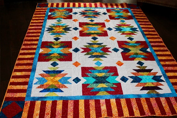 Southwest Quilt Pattern Native American American Indian