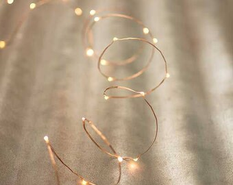 Copper-wired Fairy Lights