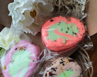 Solid bubble bar, bubble bath, bubble bar gift set, bath tea bubble bar, gift for tea lovers, herbal bubble bar, sls free, palm oil free