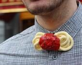 Spaghetti Bow tie Pasta Italian Italy Italianfood Food Jewelry Accessories Gentleman Bolognese Bowties Design Designer Rommydebommy Fun