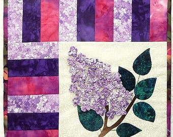 Lilac - Day and Night  including Tutorial for 3D flowers