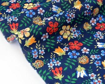 Fabric Liberty of London 93x136cm Edenham Navy