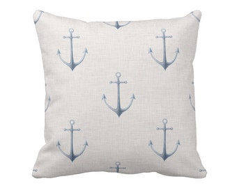Pillow Cover Nautical Anchors
