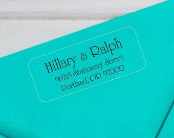 Return Address Labels, Address Label Stickers, Wedding Address Labels, Address Stickers, Return Address Label Sticker, Transparent Label