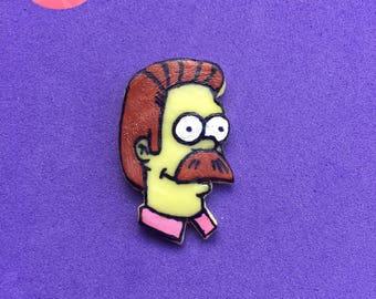 Flanders keychain