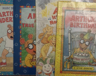 Arthur And The Francine - Arthur's Underwear - Arthur's Birthday - Arthur, It's Only Rock n Roll - Arthur's Adventure - Children's Books