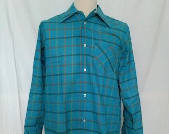 Vintage The Bay - Hudson's Bay Company - Loop Collar Shirt - Medium