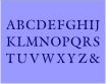 170 Alphabet Upper Case