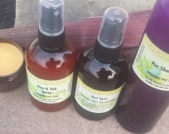 Pet and flea shampoo