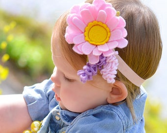 Felt blossom/lavander. pick your shade