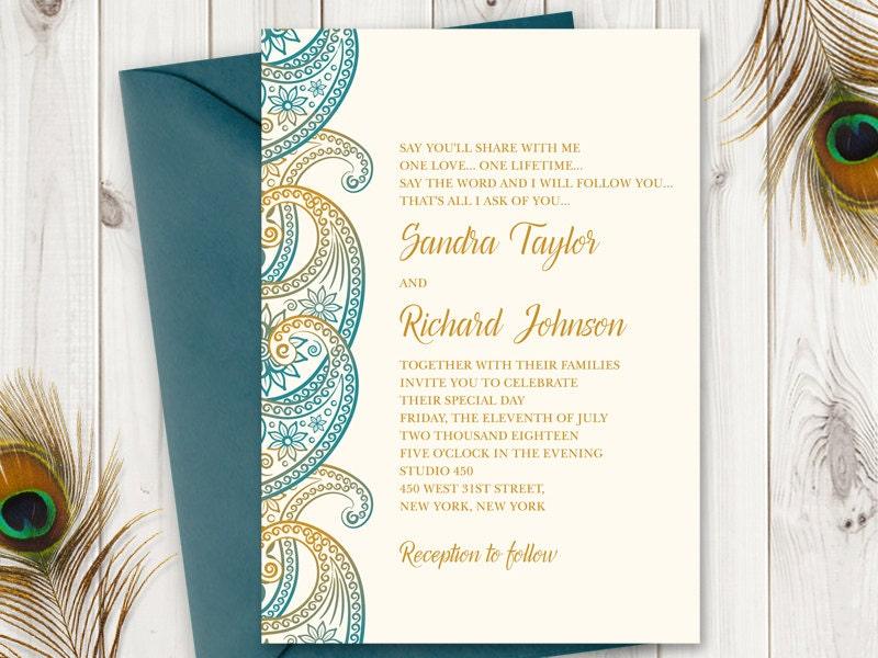 Hindu Wedding Invitation Ppt Templates Picture Ideas References - Wedding invitation templates: indian wedding invitation ppt templates free download