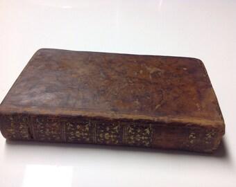 1778 Dictionnaire Abrege De La Fable - Abridged Dictionary of the Fable - 18th Century Book