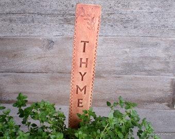 8 Ceramic Garden Markers. Urban Naturalist Garden. Pottery Labels. Garden Labels. Plant Markers. Garden Gift. Custom Order