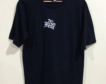 Rare!!! Vtg NO FEAR T-shirt Large Size