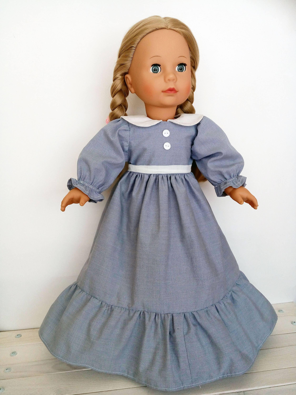 Viktorianisches Kleid für Puppe Schnittmuster für Götz Puppe