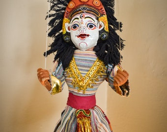Handmade Nepali Marionette, Puppet | Made in Nepal