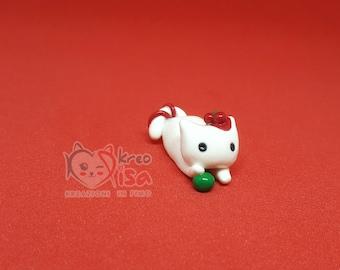 Kawaii Cat Clay Mascot | Clay Fimo 100% | Polymerclay | Charm