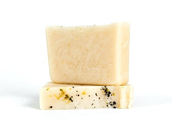 Fresh Grass Soap, Cold Process Soap, Handmade Soap, Homemade Soap, Vegan Soap, Phthalate Free, Small Batch Apothecary