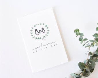 Simple Baby Card - Welcome Little One