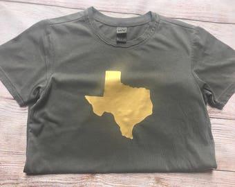 Womens Texas Shirt; Texas Shirt; Texas Tee; Texas Top; Texas Home Shirt; Texas is Home; Short Sleeve Texas Shirt