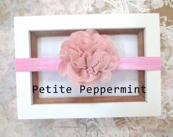 Pink Baby headband, baby girl headband, newborn headband, toddler headband - Pink Baby Head Band