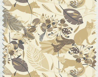 Fabric in Foxtrot Pattern Winter color