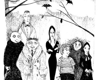 LIMITED EDITION: The Addam's family