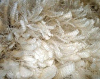 Alpaca Fleece - Unprocessed Huacaya Fiber (white/beige/fawn/bay black)