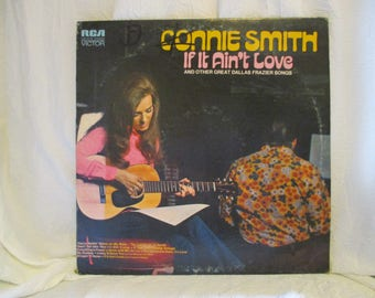 Connie Smith If It Aint Love Record LP Album