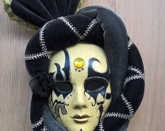 Venetian Mask - Modern Wall Decoration - Masquerade Ball - Modern Interior Decor With Exotic Masks _ Hanging Masks