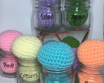 LARGE Colorful Sorting Ball Crochet Toys