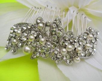 Bridal hair accessories Wedding headpiece Bridal hair comb Pearl Wedding Hair Accessories Bridal hair comb Wedding headpiece Bridal jewelry