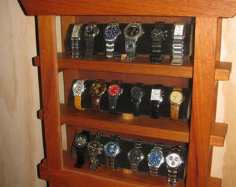Watch and Bracelet Display with Drawers